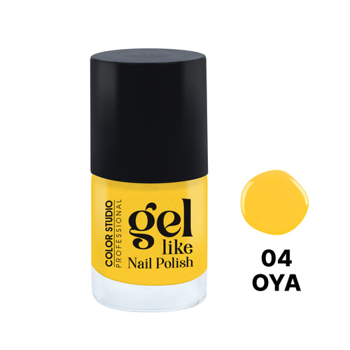 Gel Like Nail Polish -  04 Oya - COLORSTUDIOMAKEUP