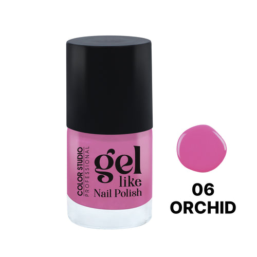 Gel Like Nail Polish -  06 Orchid - COLORSTUDIOMAKEUP