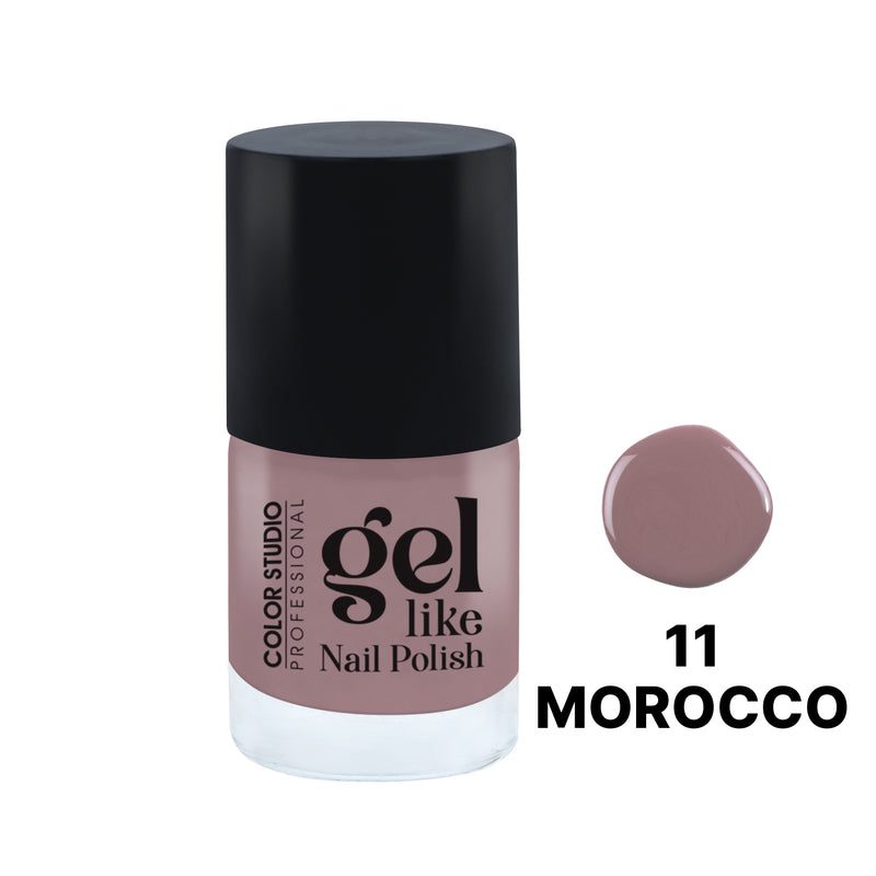 Gel Like Nail Polish -  11 Morocco - COLORSTUDIOMAKEUP