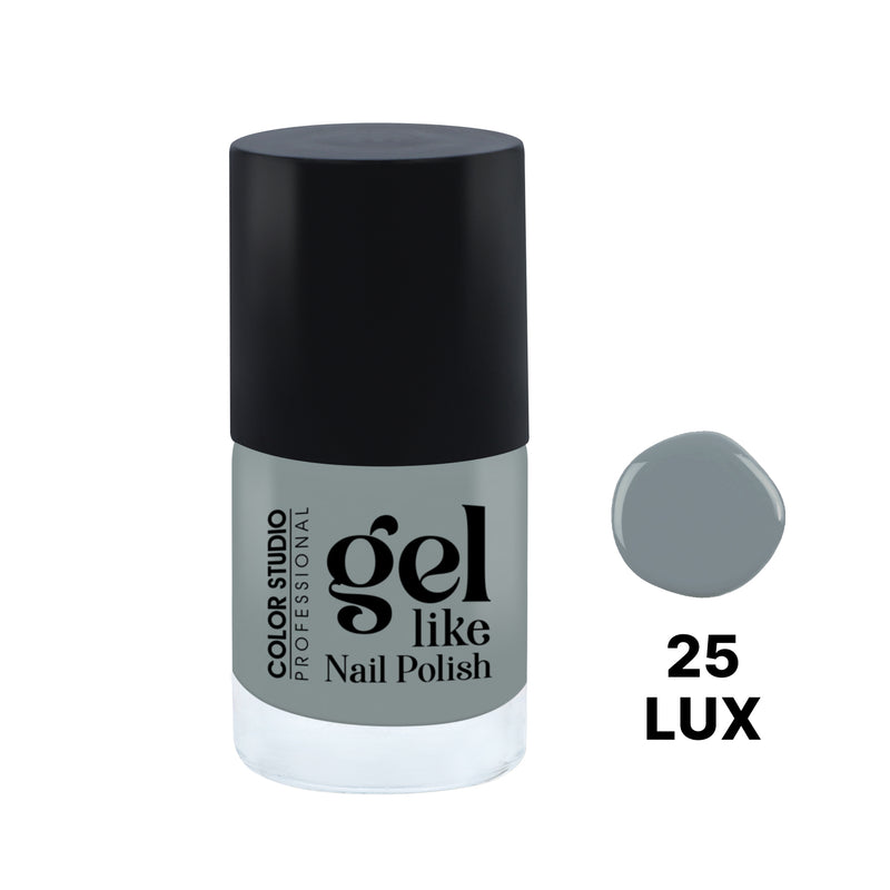 Gel Like Nail Polish -  25 Lux - COLORSTUDIOMAKEUP