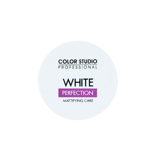 White Perfection Mattifying Cake - COLORSTUDIOMAKEUP
