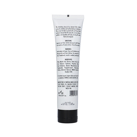 Charcoal Face Cleanser - COLORSTUDIOMAKEUP