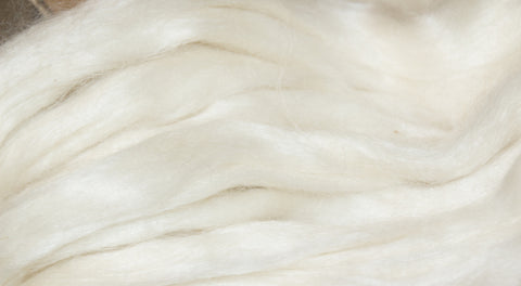Natural Mohair Roving