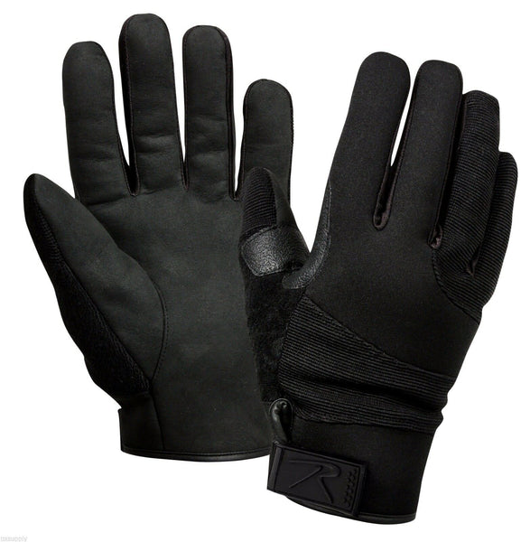 cold weather street shield gloves tactical cut resistant rothco 4436