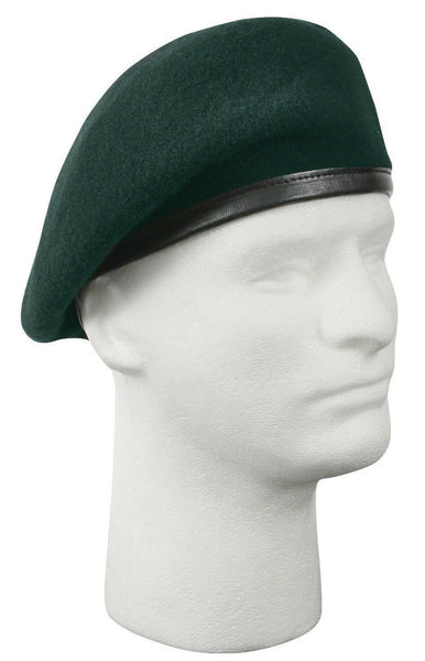 Beret Green Inspection Ready Made to MIL SPEC various sizes Rothco 4959 No Flash