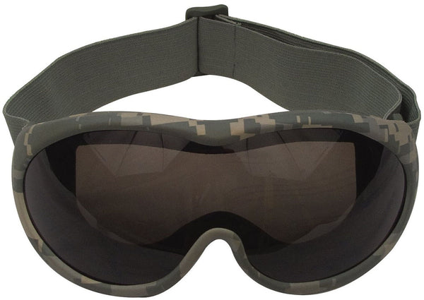 ACU Military Style Tactical Goggles Desert Goggle UV 400 Protection Rothco 10357