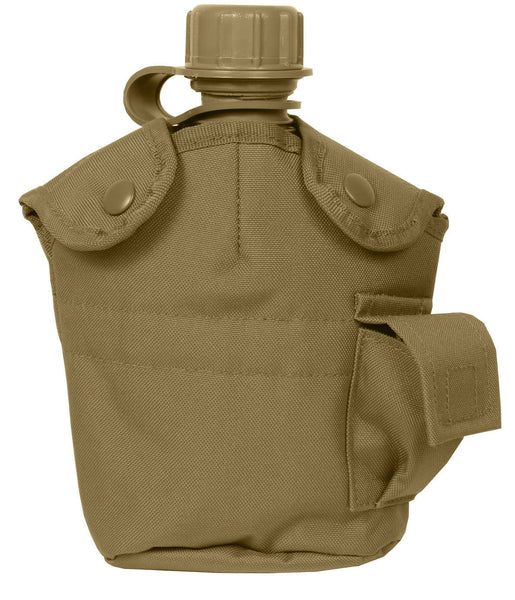 gi canteen pouch cover coyote brown molle modular compatible rothco 695