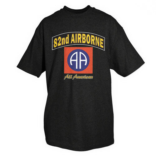 t-shirt 82nd airborne division various sizes fox outdoor 63-972