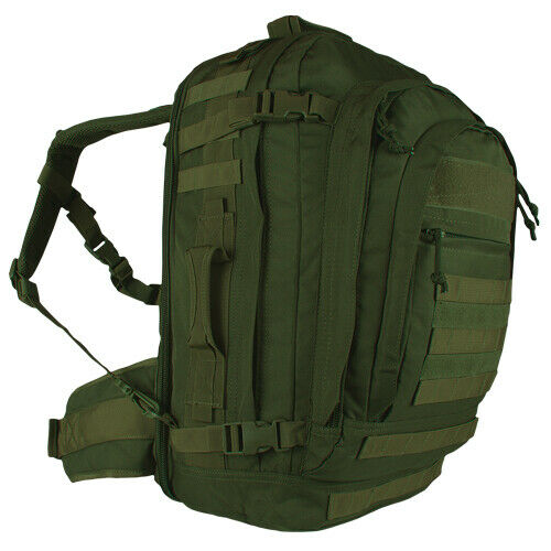 OD Green Backpack Military Style Field Operators Action Pack Tactical Fox 56-580