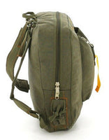 backpack olive drab canvas vintage style flight bag rothco 9764