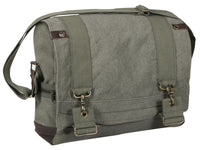 Vintage Style Messenger Bag  B15 Pilot Shoulder Strap Canvas Rothco 9110