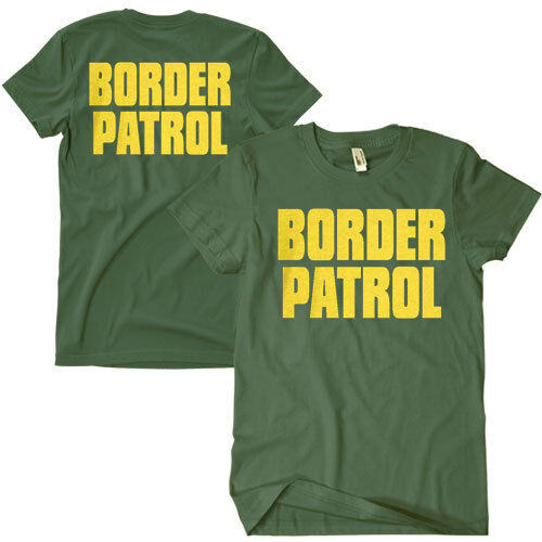 OD Border Patrol T-shirt 2 sided Print Olive Green Fox 64-607