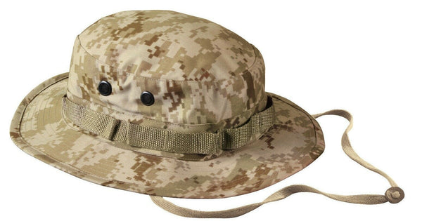 Boonie Hat Desert Digital Camo Camouflage Sun Jungle Hat Rothco 5829