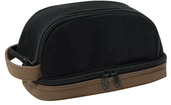Travel Toiletry Bag Kit Case Compact Military Dopp Organizer Deluxe Rothco 1854
