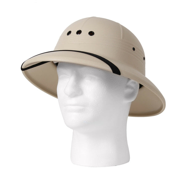 Pith Helmet Vietnam Military Style Lightweight Safari USA Made Rothco 5670