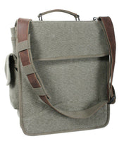 bag vintage engineers m-51 leather accents olive drab rothco 8626