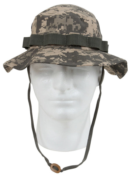 Boonie Hat ACU Army Digital Camo Camouflage Jungle Hat Rothco 5891