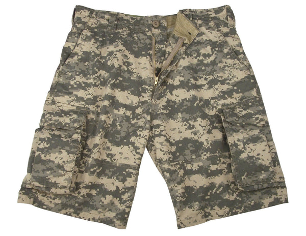 shorts cargo camo acu digital vintage military style camouflage rothco 2531