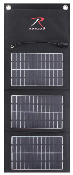 Tactical Folding Solar Panel Molle Modular Hunting Camping Use Rothco 2116
