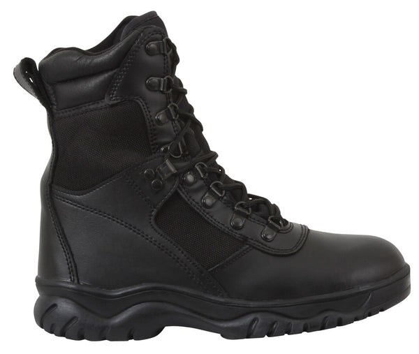 Black Military Tactical Forced Entry Waterproof Boots Rothco 5052 various sizes