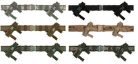 "tactical duty belt military style 2"" wide with magazine pouches fox 51-380"