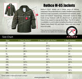 field jacket m-65 with removable liner navy blue military style rothco 8527