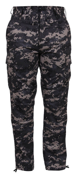 military style cargo pants bdu trousers subdued urban digital camo rothco 9620