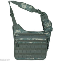 tactical messenger bag army acu digital camo molle nylon fox tactical 51-337