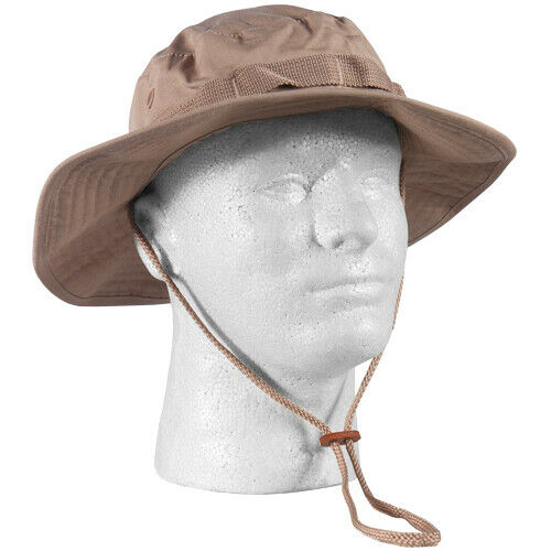 boonie hat khaki rip stop various sizes fox outdoor 75-15