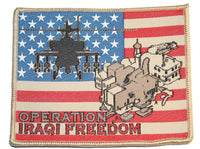 oif military patch operation iraqi freedom iraq town apache usa flag