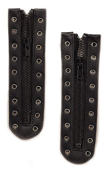 convert boot laces to zipper 9 holes black rothco 6195