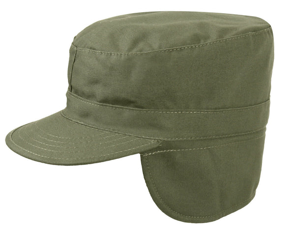 Military Ear Flap Fatigue Caps Army Patrol Hat Winter Hat olive drab Rothco 5712