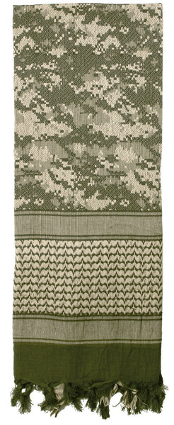 ACU Digital Camouflage Shemagh Camo Tactical Desert Keffiyeh Scarf 88537