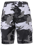 shorts city camo cargo bdu military style camouflage mens rothco 65215