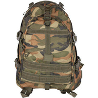 Military Large Transport Pack Backpack Tactical Woodland Camo Fox Outdoor 56-434