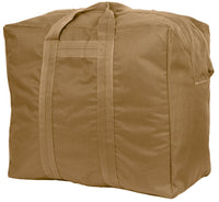 Large Aviator Coyote Bag Enhanced Kit Cargo Heavy Duty Nylon Bag Rothco 8162