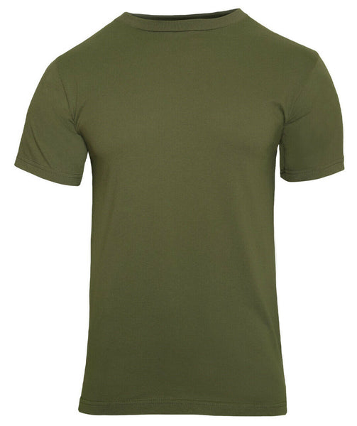 Military Olive Drab Green Cotton T-shirt Rothco 7979