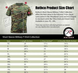 urban tiger stripe camo t-shirt military camouflage short sleeve rothco 61070