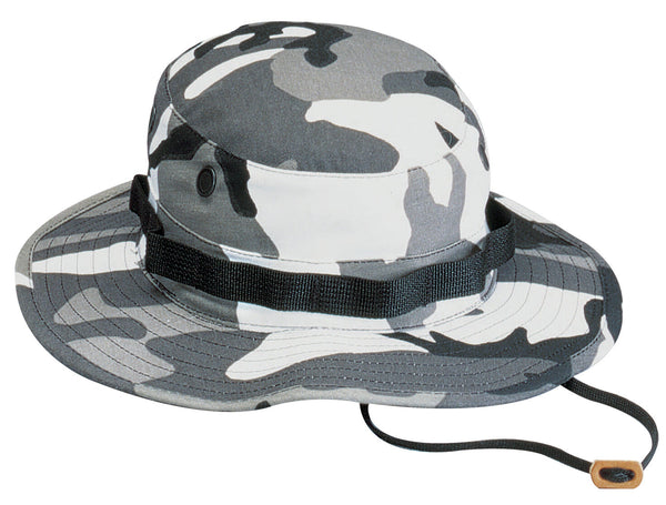 City Urban Camo Booniehat Military Wide Brim Bucket Boonie Hat Rothco 5801