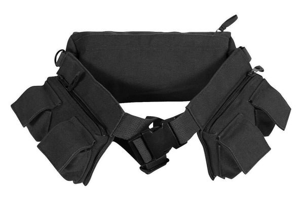 Heavyweight Canvas Day Pack 7-Pocket Fanny Butt Pack Waist Bag Rothco 4258