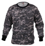 Military T-shirt Camo Subdued Urban Digital Camouflage Long Sleeve Rothco 67780