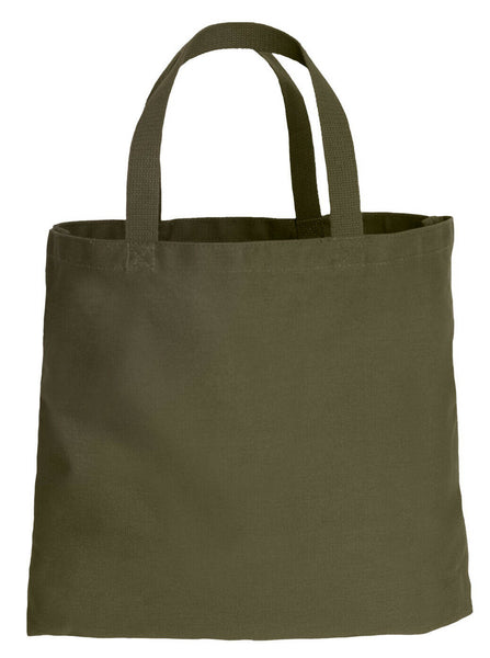 Canvas Cotton Shopping Tote Bag Bags Olive Green Rothco 2492
