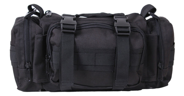 Fast Access Tactical Medical Trauma Kit EMS EMT Medic Black Bag Pack Rothco 5984