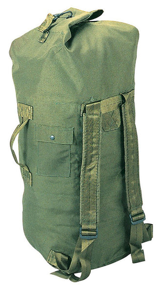 military style duffle bag double strap backpack olive drab rothco 2484