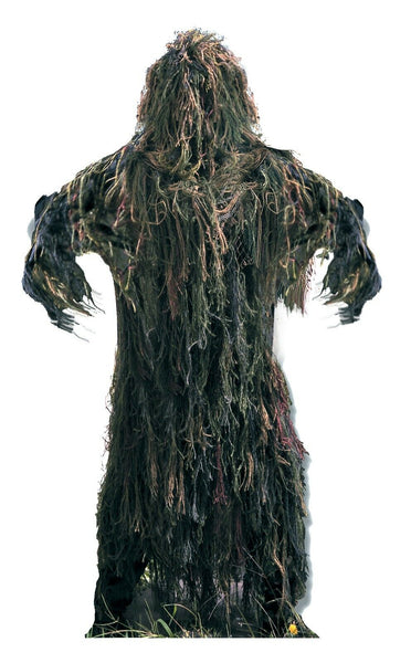 camo ghillie suit woodland camouflage with hood all weather rothco 64127
