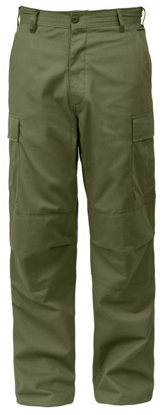 Olive Drab Military BDU Style Cargo Fatigue Pants rothco 7838
