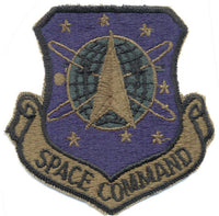 Military Patch Space Command Rothco 72102