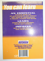 book bosnian for peacekeepers sfor mission language travel book