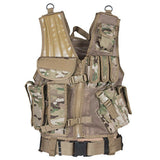 Tactical Vest With Pouches Mach-1 Coyote Brown OD Black Olive Drab fox 65-2270