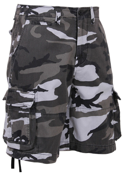 shorts city camo vintage military style infantry cargo mens rothco 2525